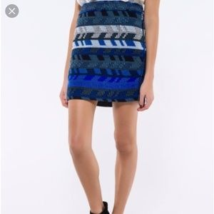 Maje Jacquard skirt